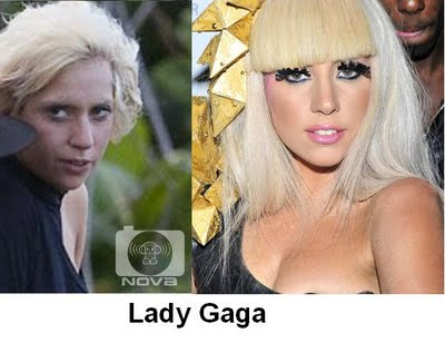 stars lady gaga - Stars Without Make-up. Madonna