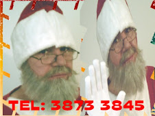 PAPAI NOEL BARBA NATURAL