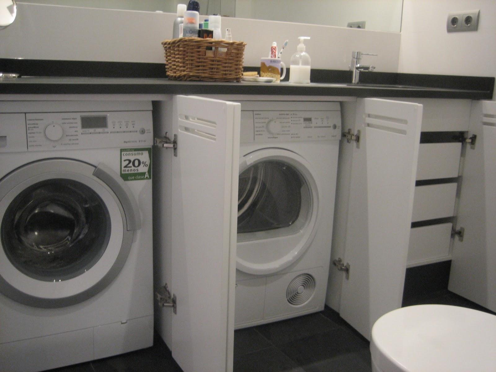 Estudio zep reforma vivienda mmb tibi alicante for Mueble para lavadora