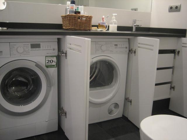 Estudio zep reforma vivienda mmb tibi alicante - Mueble lavadora secadora ...