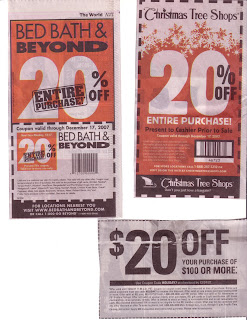 The Beantown Bloggery Christmas Shopping Coupons
