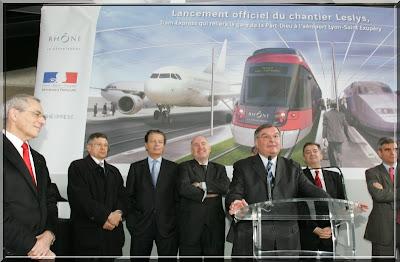 Q.G. de campagne de Michel Mercier Leslys