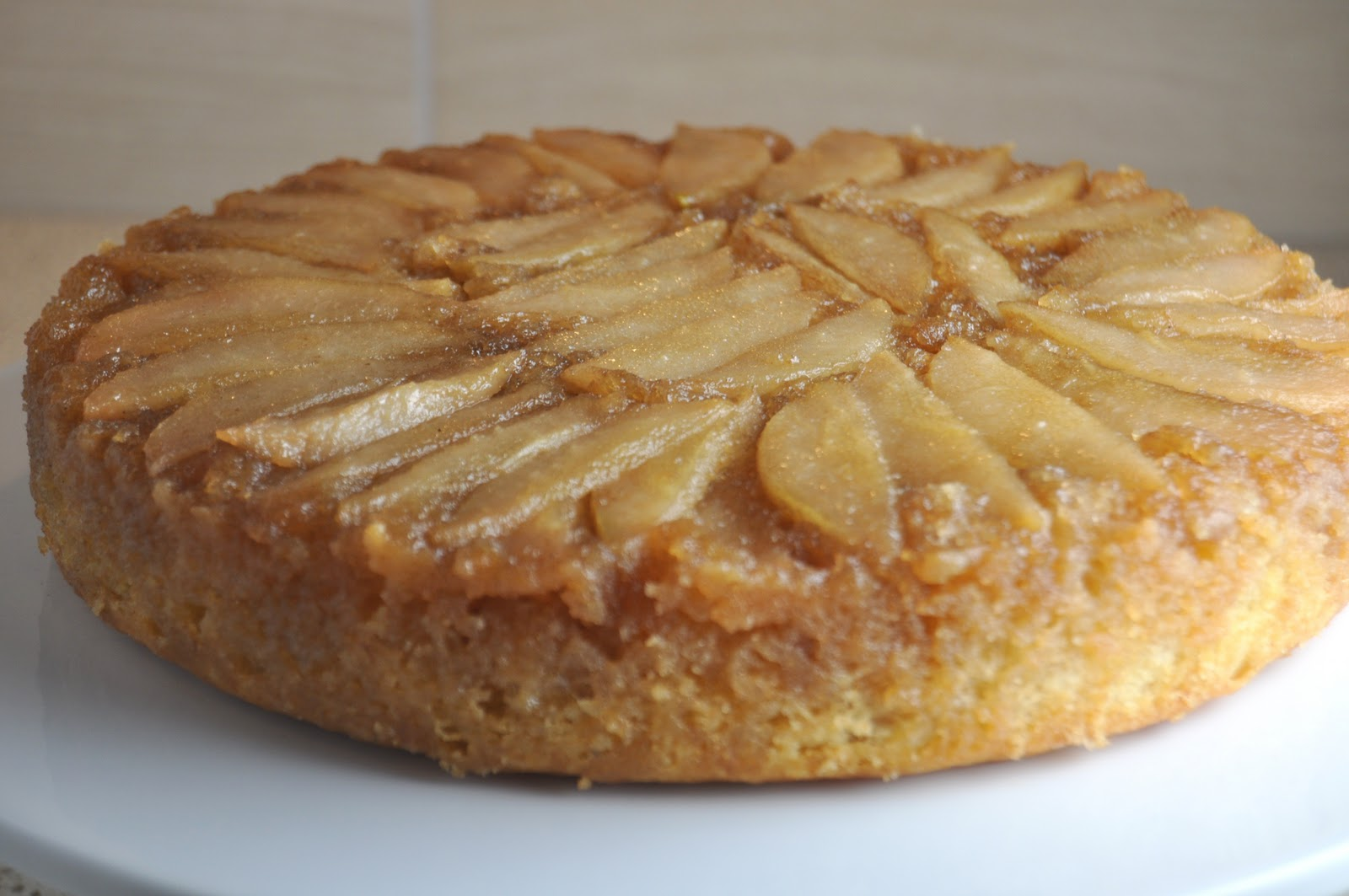 ... this recipe over on caramelized pear upside down pear upside down cake
