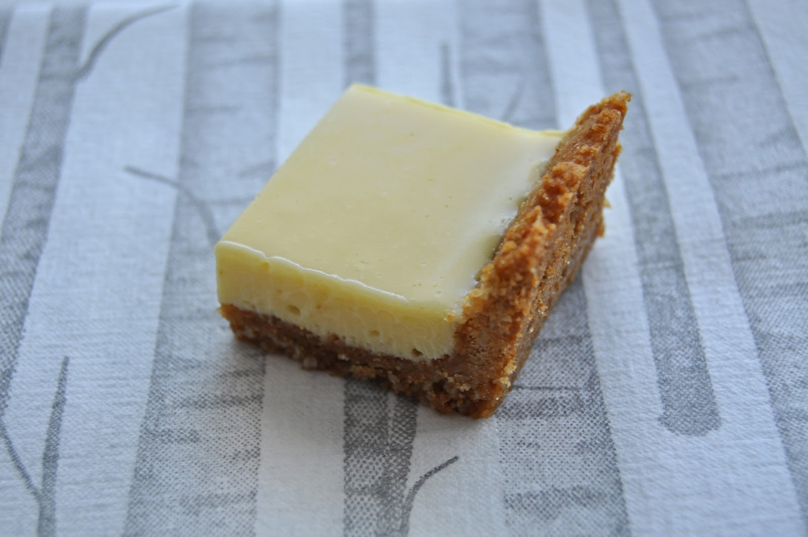 Impeccable Taste: Lime Squares with Macadamia Nut Crust