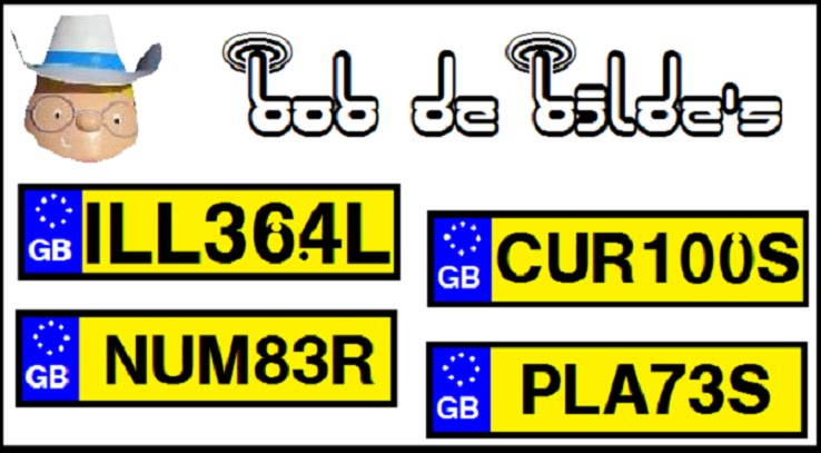 Curious & Illegal Number Plates
