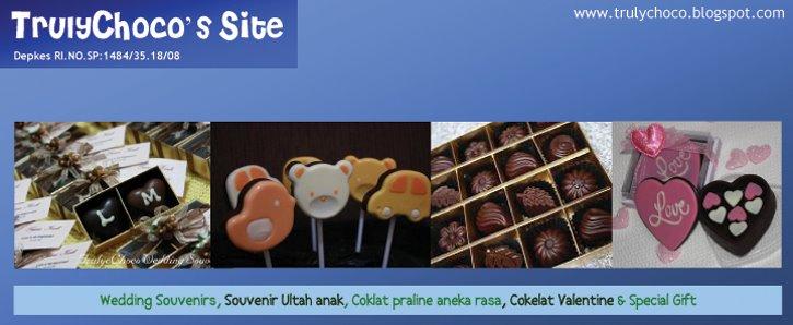 Toko coklat online, coklat praline, souvenir coklat, souvenir ulang tahun