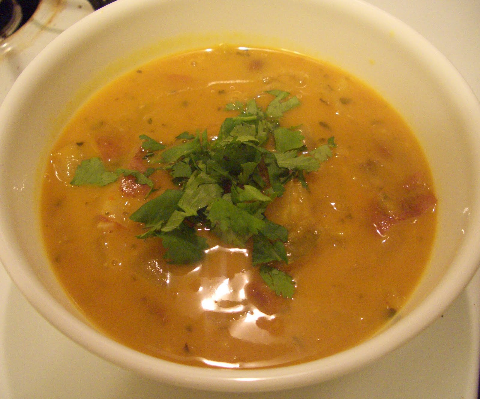 Invariably Vegan: Mexican Pumpkin Soup