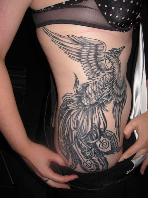 Cool Phoenix Tattoos On Women Picture 1