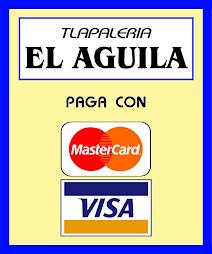 Aceptamos pago con Tarjetas de Débito y Crédito