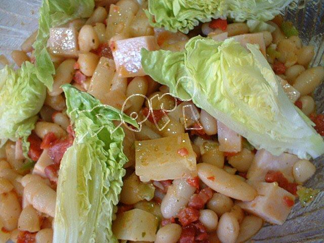 Las cositas de meri ensalada de alubias - Ensalada de alubias ...