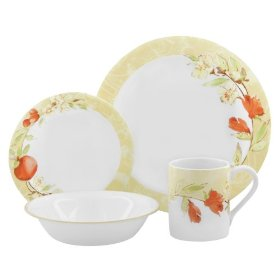 Corelle Impressions 20-Piece Dinnerware Set Service for 4 Thymeless Herbs  sc 1 st  The Dinnerware Shop & Corelle Impressions 20-Piece Dinnerware Set Service for 4 ...