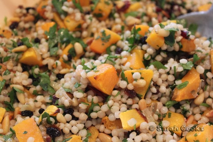 ... Lebovitz's Israeli Couscous with Butternut Squash & Preserved Limes