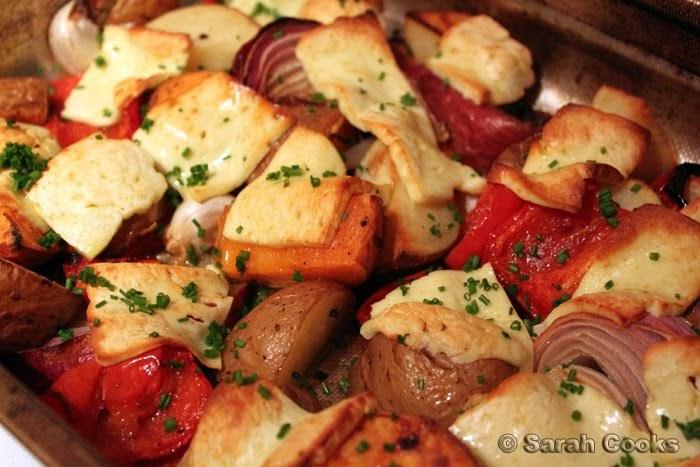 Canape Ideas Nigella Of Sarah Cooks Nigella Lawson 39 S Double Potato And Halloumi Bake