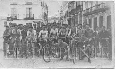 ciclistas localesred - EL CICLISMO DE OTRA ÉPOCA