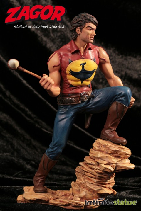 Fumetti 3D Collection Il Grande Blek Statua Figure No Fascicolo