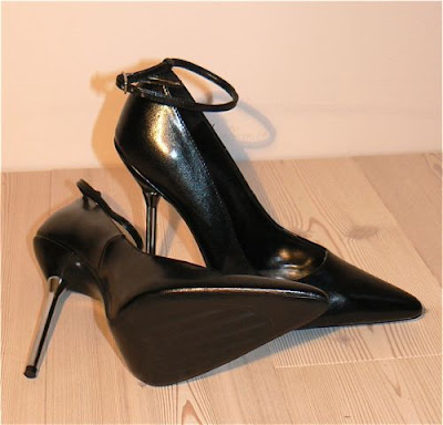 my newest pair of high heels