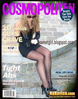 my corset photos as magazine cover?