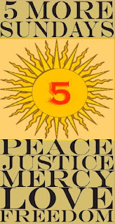 Poster Peace Justy Mercy Love Freedom Green Mountain