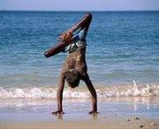 La orilla de la vida, de Franck. 1er premio en el concurso de fotografía de la OMS: Imágenes de salud y discapacidad