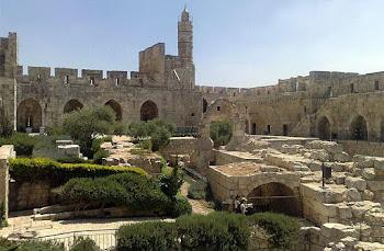Torre de David, em Jerusalém