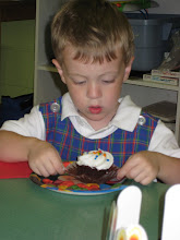 Birthday Boy at Preschool
