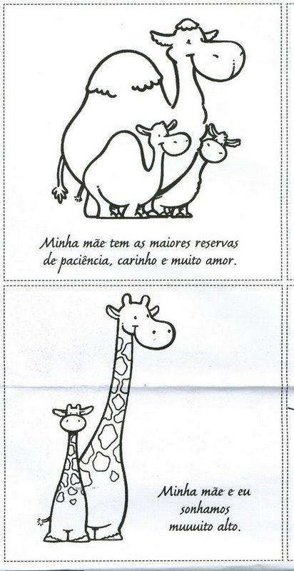 atividades dia das maes. Atividade Dia das Mães
