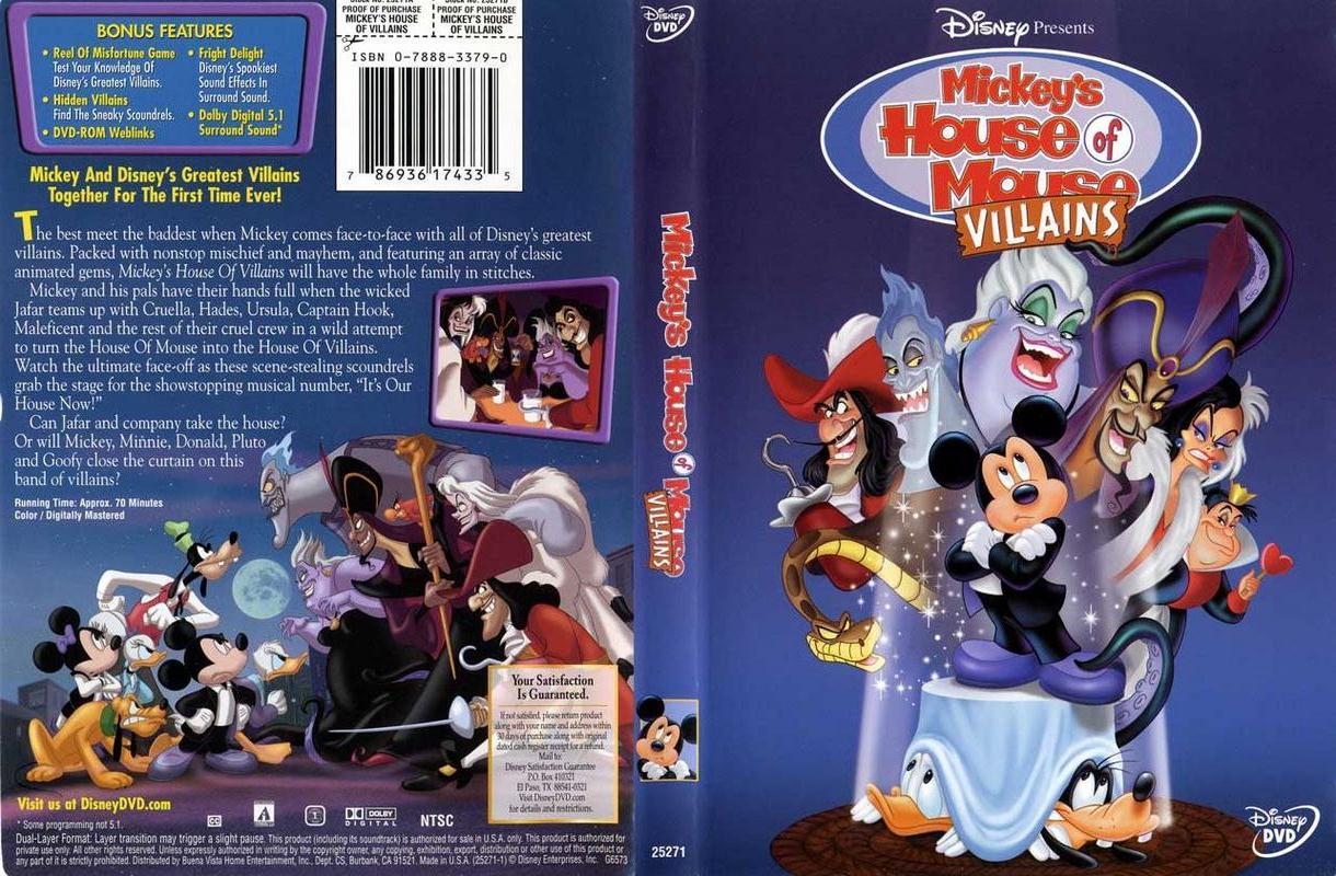 Halloween Movie Night 5 Mickeys House Of Villians