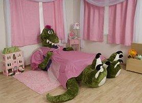 Plush Dinosaur Bed Frame