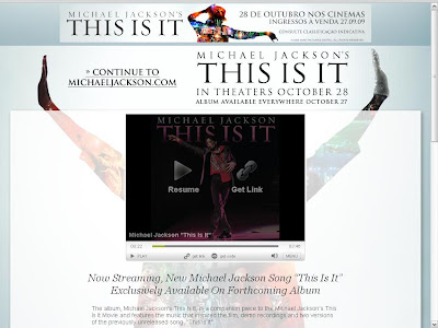nova musica Michael Jackson This Is It download