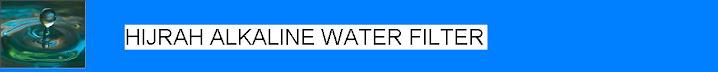 HIJRAH Bio-Aura Alkaline Water Filter