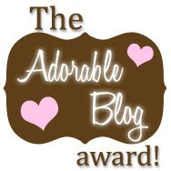 The Adorable Blog Award 2009