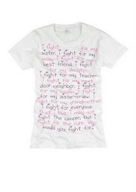 càncer de mama - el mensaje de Wanda
