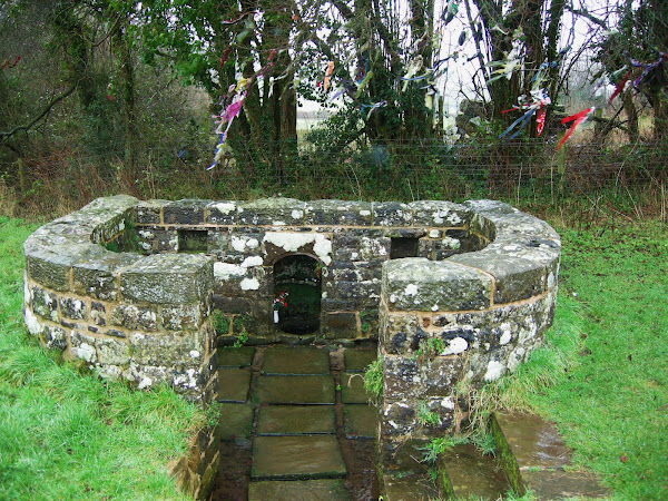 St Anne's well, Trellech from the field