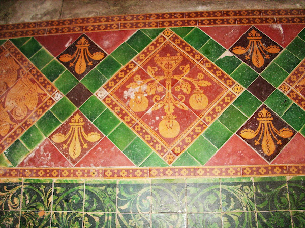 Mediaeval style tiling (refurbished)