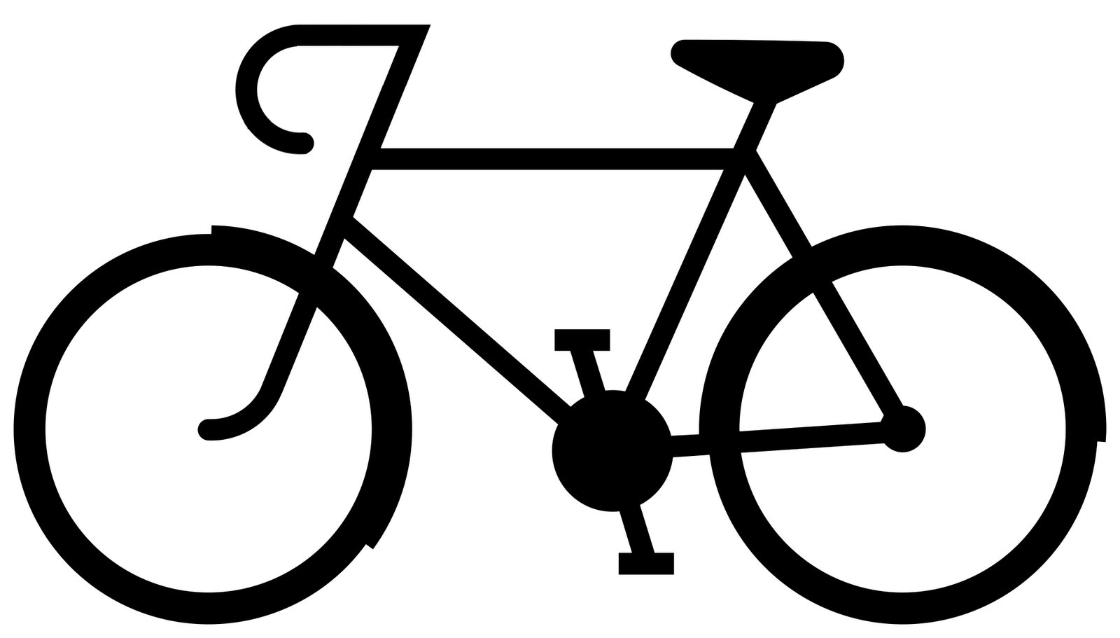 ber Chic For Cheap I Could Do That Bicycle Silhouette Tee