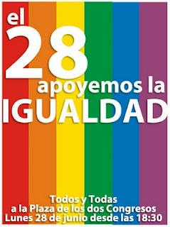 28 de Junio al Congreso por el Matrimonio Igualitario