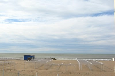 Mar del Plata - Playa Bristol en invierno