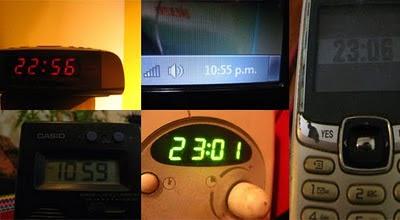 la hora oficial relojes