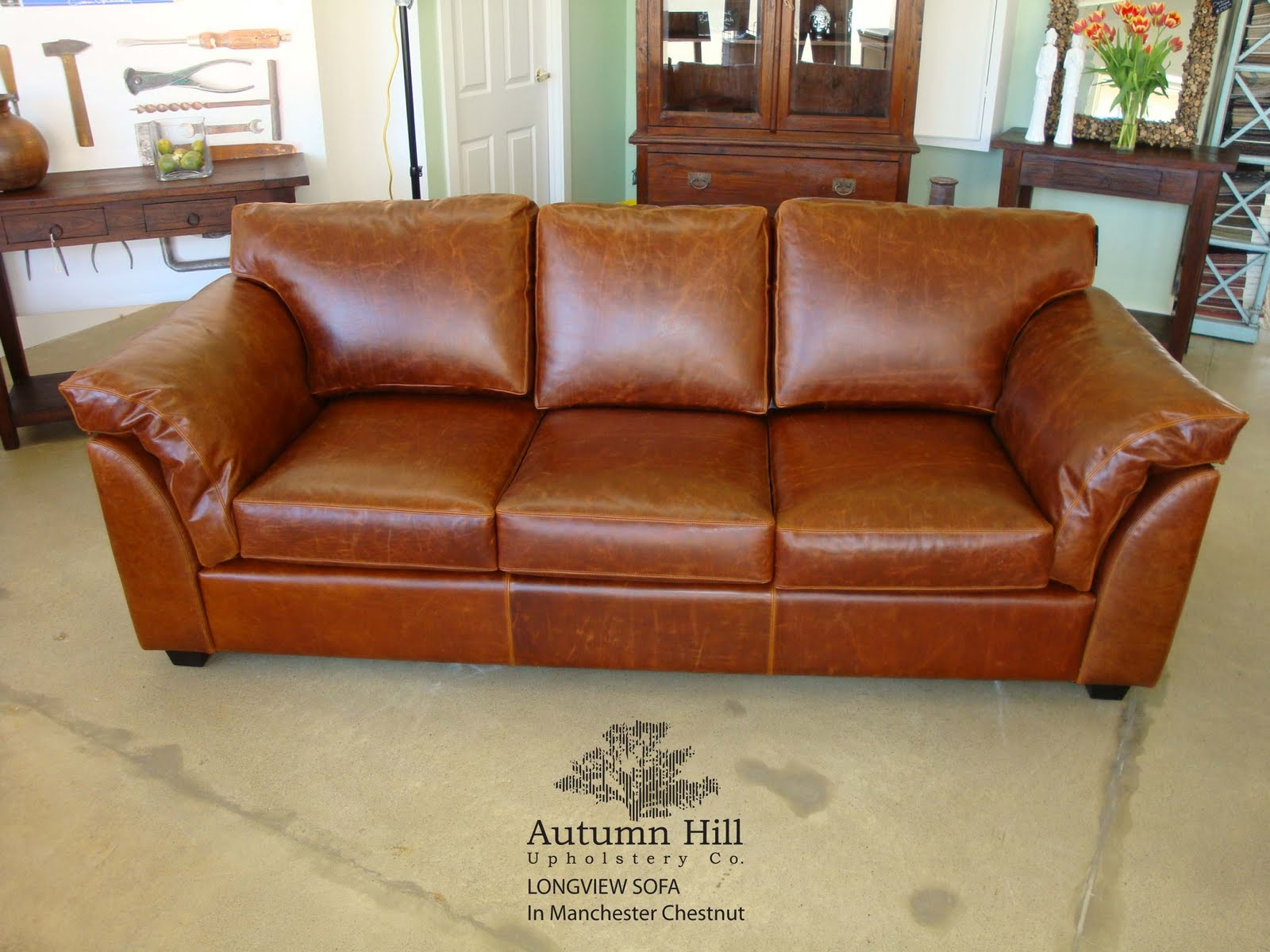 Autumn Hill Upholstery Co Longview Sofa In Manchester