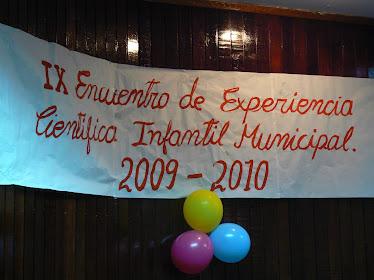 IX Encuentro de Experiencia Cientifica Infantil