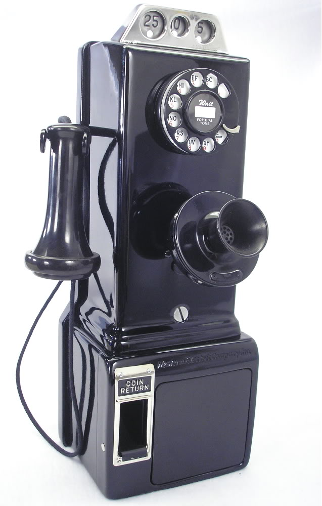 Phones through the Ages: 1910-1920: The first pay phone