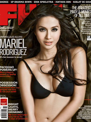 MARIEL RODRIGUEZ FHM Cover Girl December 2008