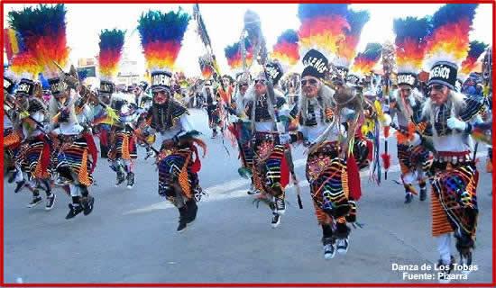 """Baile religioso """"Los Tobas"""""""