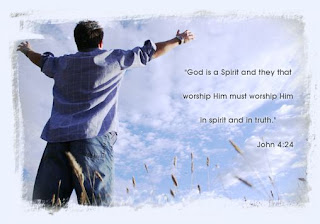 Worship God in your spirit, image courtesy of neusebaptist.org