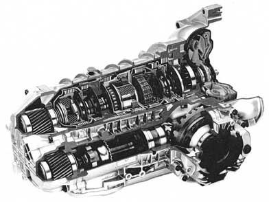 Автоматическая коробка передач схема