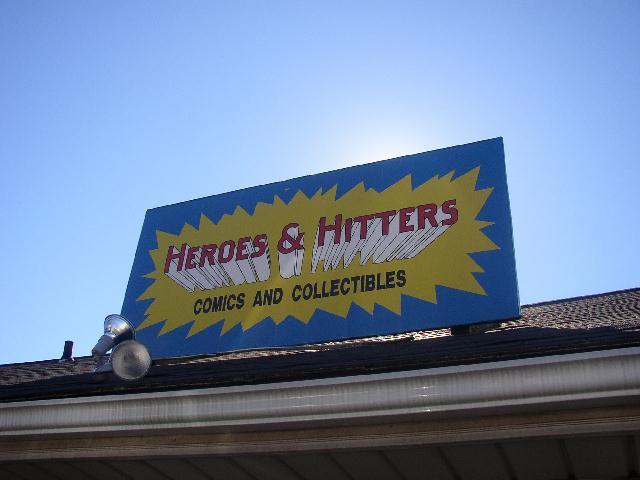 Heroes & Hitters: Comic Book Store