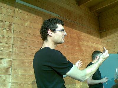 Marco Eberle im Bau 4 Altbüron