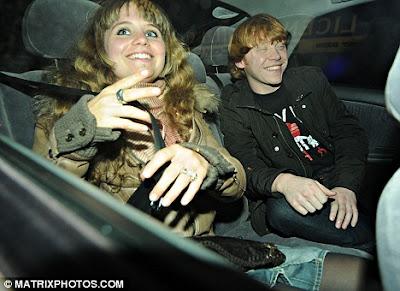 Rupert Grint Girlfrien... Rupert Grint Married