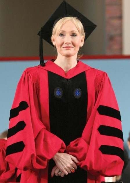 the analysis of j k rowlings commencement speech at harvard university in 2008 Jk rowling harvard commencement speech   harvard university commencement 2008 president faust, members of the harvard corporation and the board of overseers, members of the faculty, proud parents, and, above all, graduates.