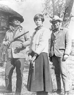 Kim Darby, John Wayne, True Grit